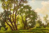 Солнечный день (65 см*40 см, холст/масло, 2003)
