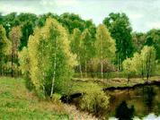 Ветреный день (холст/масло 30см x 40см 2008 г.)