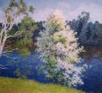 Цвет черемухи (60см*55см, масло/холст, 2003)